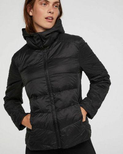 Куртка демисезонная черная Oysho