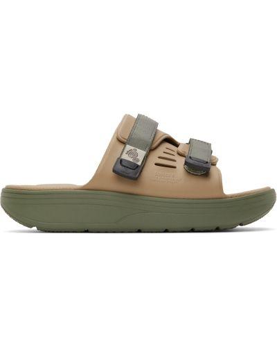 Sandały na rzepy - czarne Suicoke