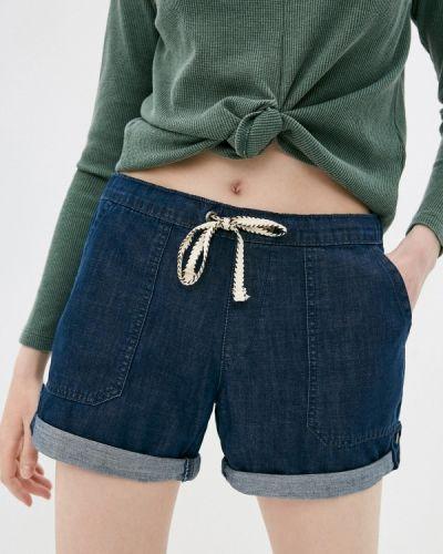 Синие джинсовые шорты Roxy