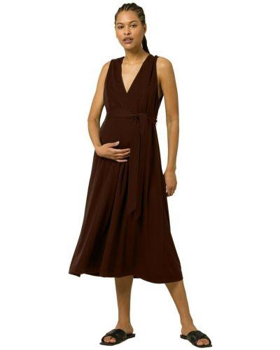 Brązowa sukienka Ivy & Oak