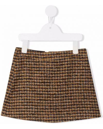 Brązowa spódnica Bonpoint