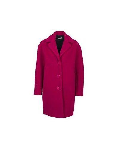 Пальто розовое осеннее Moschino Love