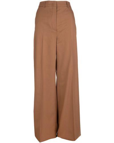 Brązowe spodnie Sportmax