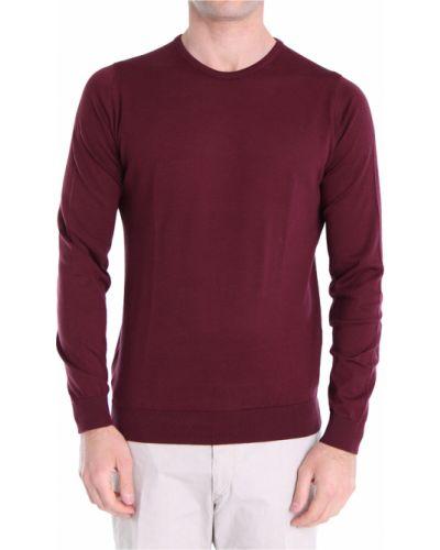 Fioletowy sweter John Smedley