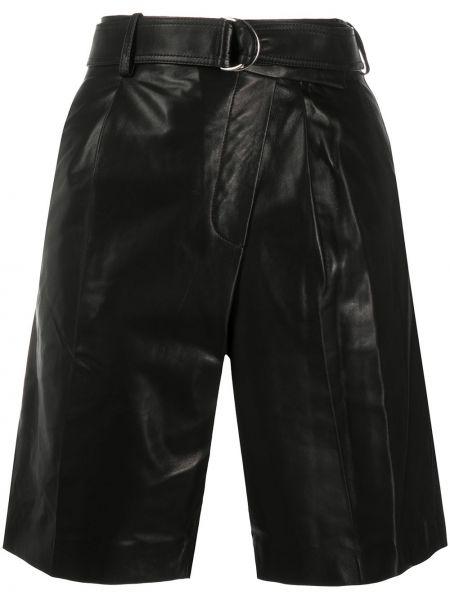Шорты с карманами - черные Helmut Lang