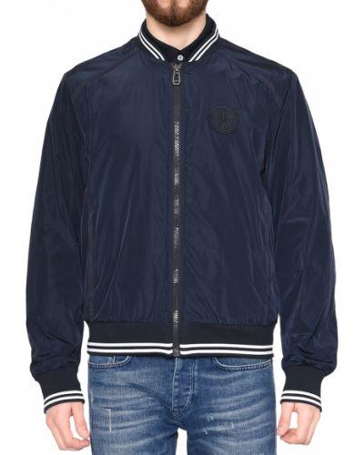 Куртка из полиэстера - синяя Joop!