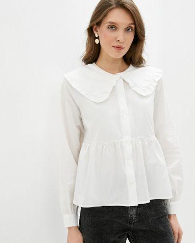 Белая блузка с длинными рукавами Ichi