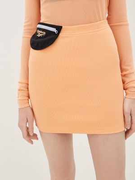 Оранжевая юбка Reebok Classic