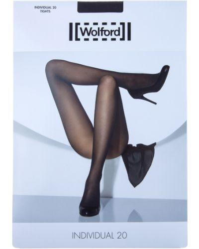 Колготки из эластана - черные Wolford