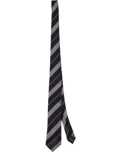 Czarny krawat Lardini