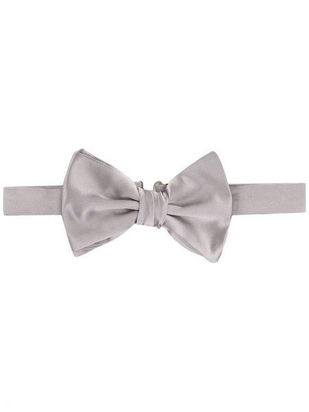 Włókienniczy krawat na hakach Emporio Armani