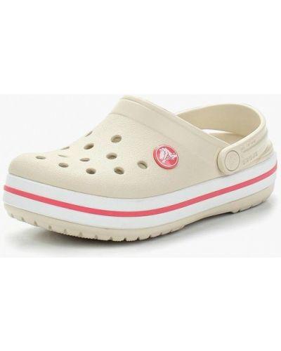 Бежевое сабо Crocs