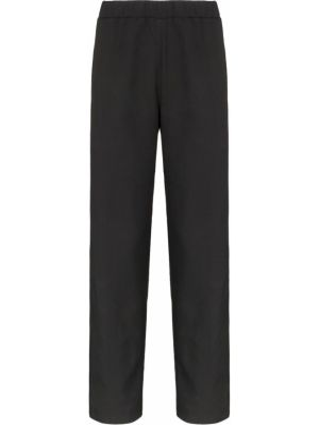 Прямые брюки с поясом новогодние Lou Dalton