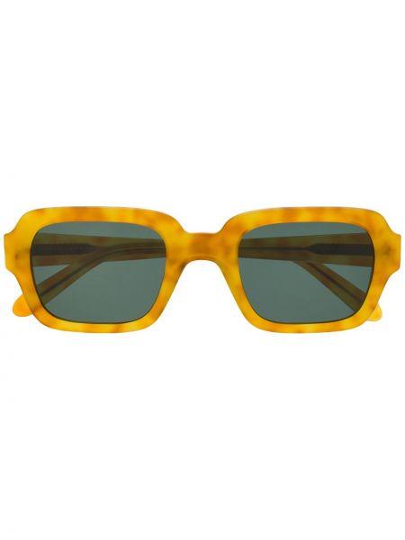 Желтые очки квадратные Han Kjøbenhavn