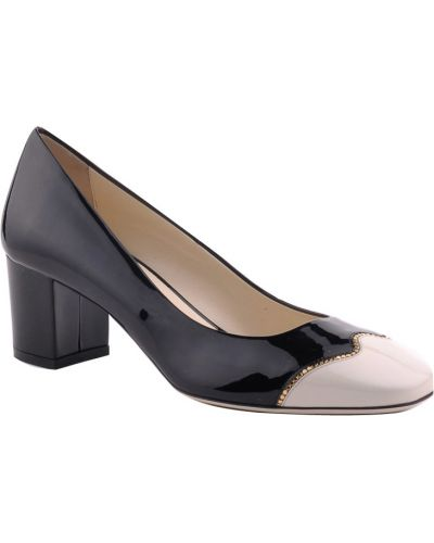 Черные кожаные туфли Loriblu