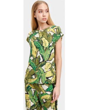 Блузка - зеленая Bizzarro