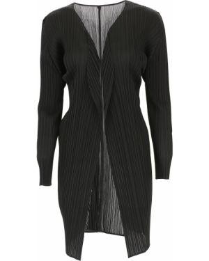Czarny sweter z długimi rękawami Issey Miyake