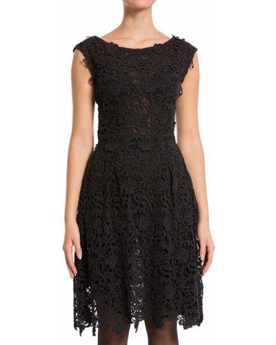 Хлопковое платье - черное Scervino Street