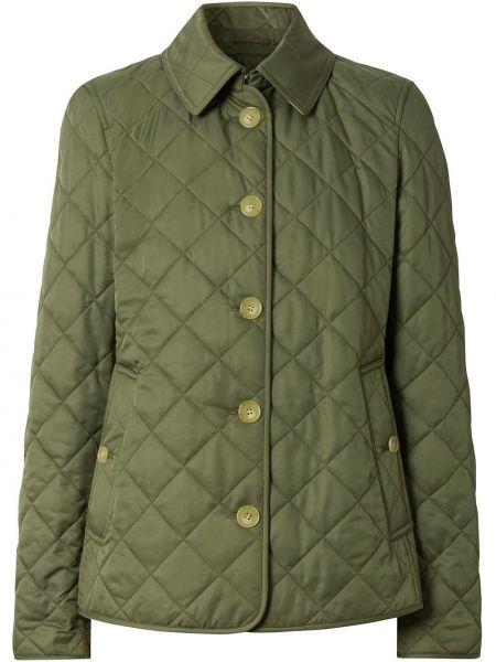 Стеганая куртка на пуговицах Burberry