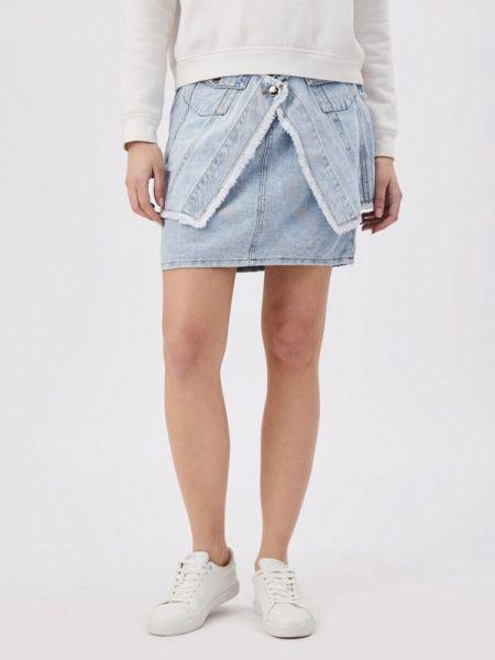 Джинсовая юбка весенняя D'she