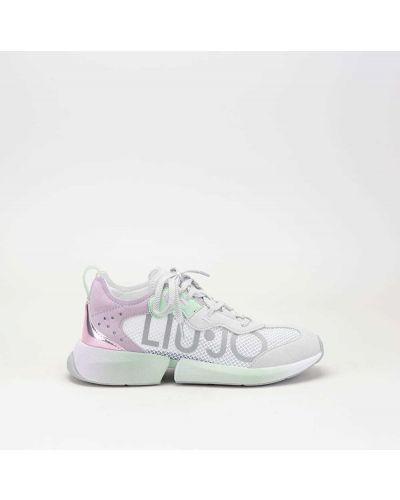 Szare sneakersy Liu Jo
