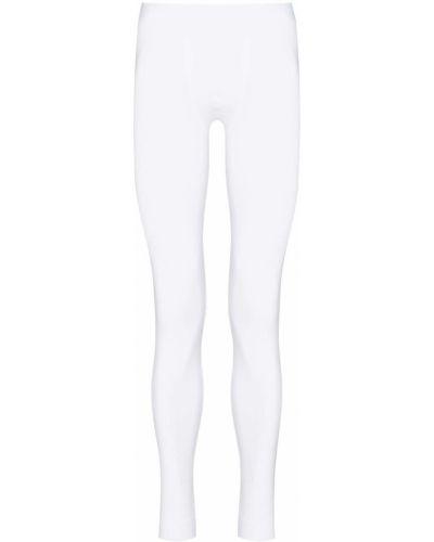 Белые носки из эластана Zimmerli