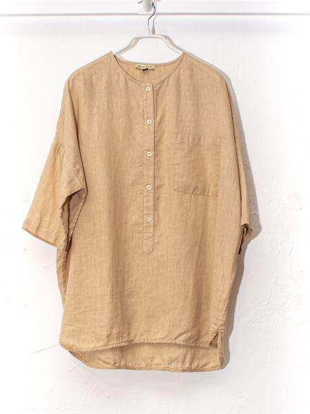 Рубашка casual - бежевая Mariolli