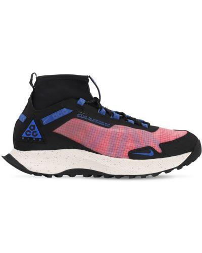 Кроссовки сетчатые - розовые Nike Acg
