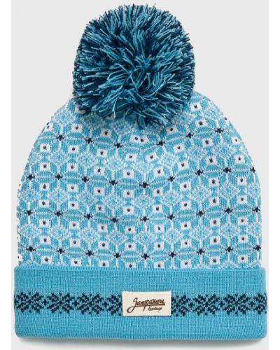 Зимняя шапка с помпоном с отворотом True Spin
