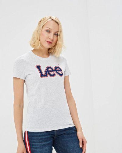 Серая футболка 2019 Lee
