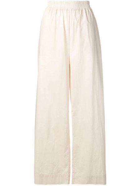 Свободные хлопковые прямые свободные брюки с поясом Woolrich