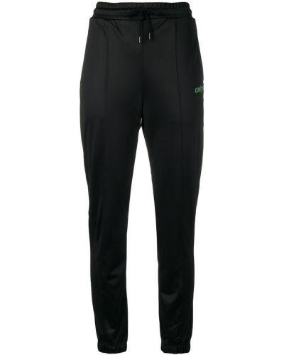 Спортивные брюки - черные Marcelo Burlon. County Of Milan