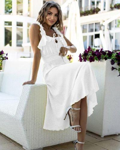 Белое турецкое платье G&m