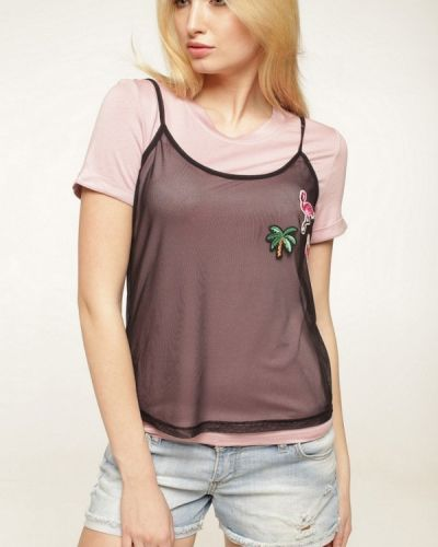 Розовая футболка Lavana Fashion