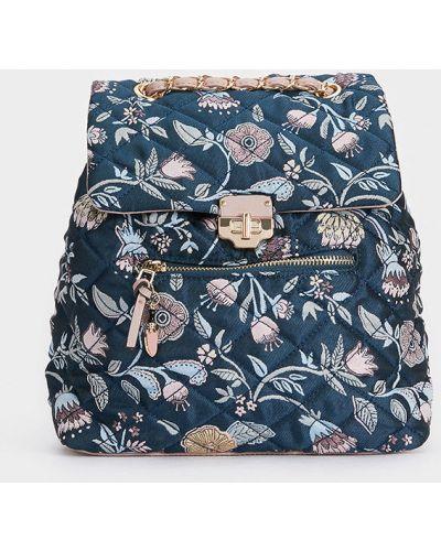 Рюкзак с узором темно-синий Parfois