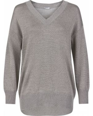 Серебряный акриловый свитер P.a.r.o.s.h.