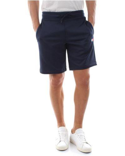 Niebieskie krótkie szorty Tommy Hilfiger