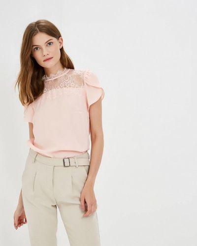 Розовая блузка кружевная Zarina
