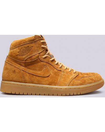 Коричневые кроссовки Jordan