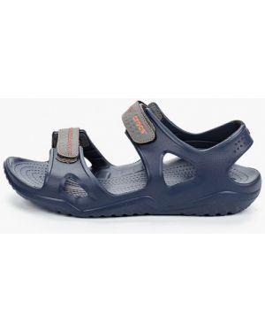 Спортивные сандалии синий Crocs