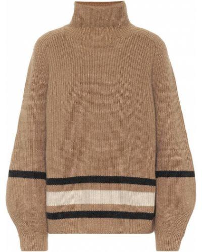 Коричневый кашемировый свитер Loro Piana