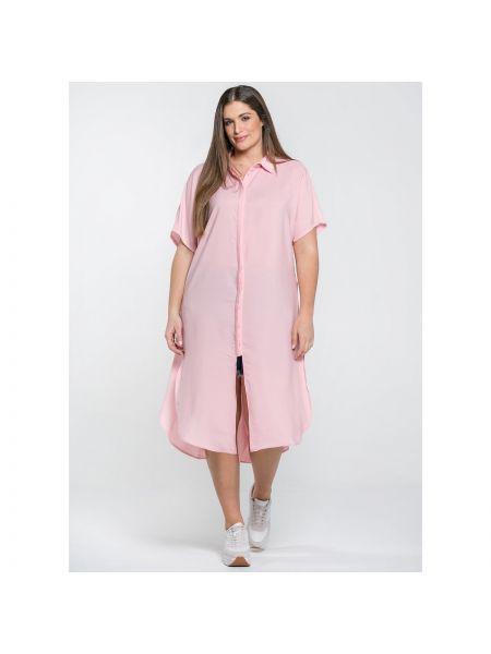 Расклешенное платье мини с воротником с короткими рукавами ниже колена Mat Fashion