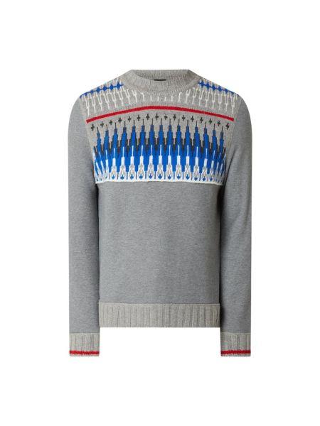 Prążkowany sweter wełniany Bogner Fire + Ice