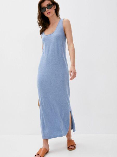 Платье синее платье-майка Rodier