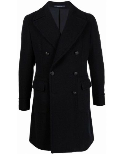 Niebieski płaszcz Tagliatore