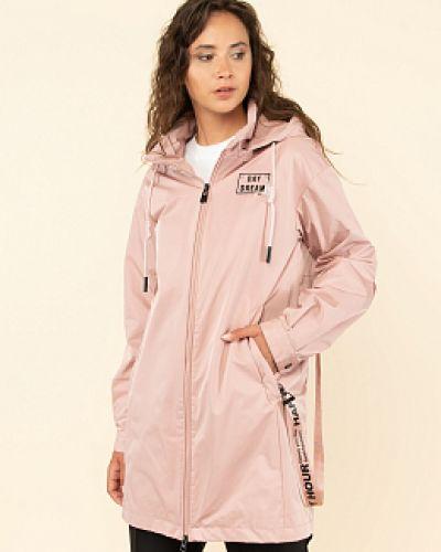 Розовая демисезонная куртка каляев