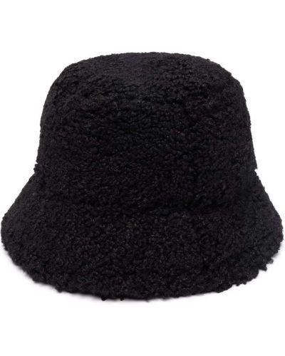 Czarny kapelusz Apparis