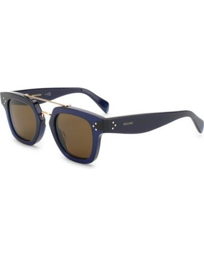Солнцезащитные очки темно-синий синий Céline Eyewear