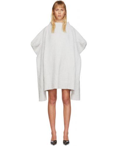 Платье макси через плечо вязаное Christina Seewald