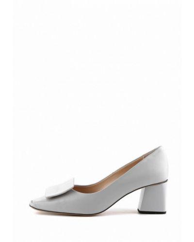 Кожаные туфли - серые Ilvi